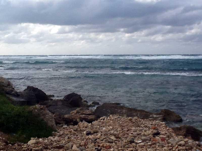 Il mare d'inverno ... a Cuba