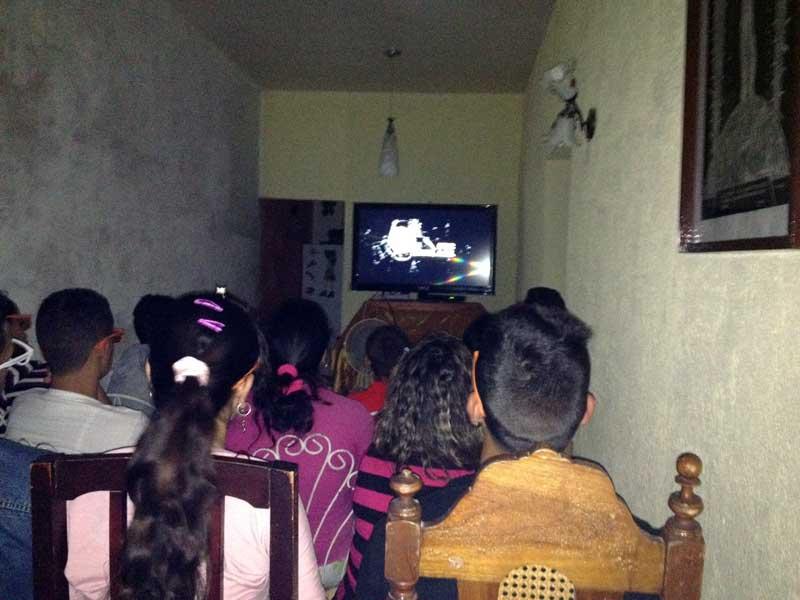 Cine 3D alla cubana