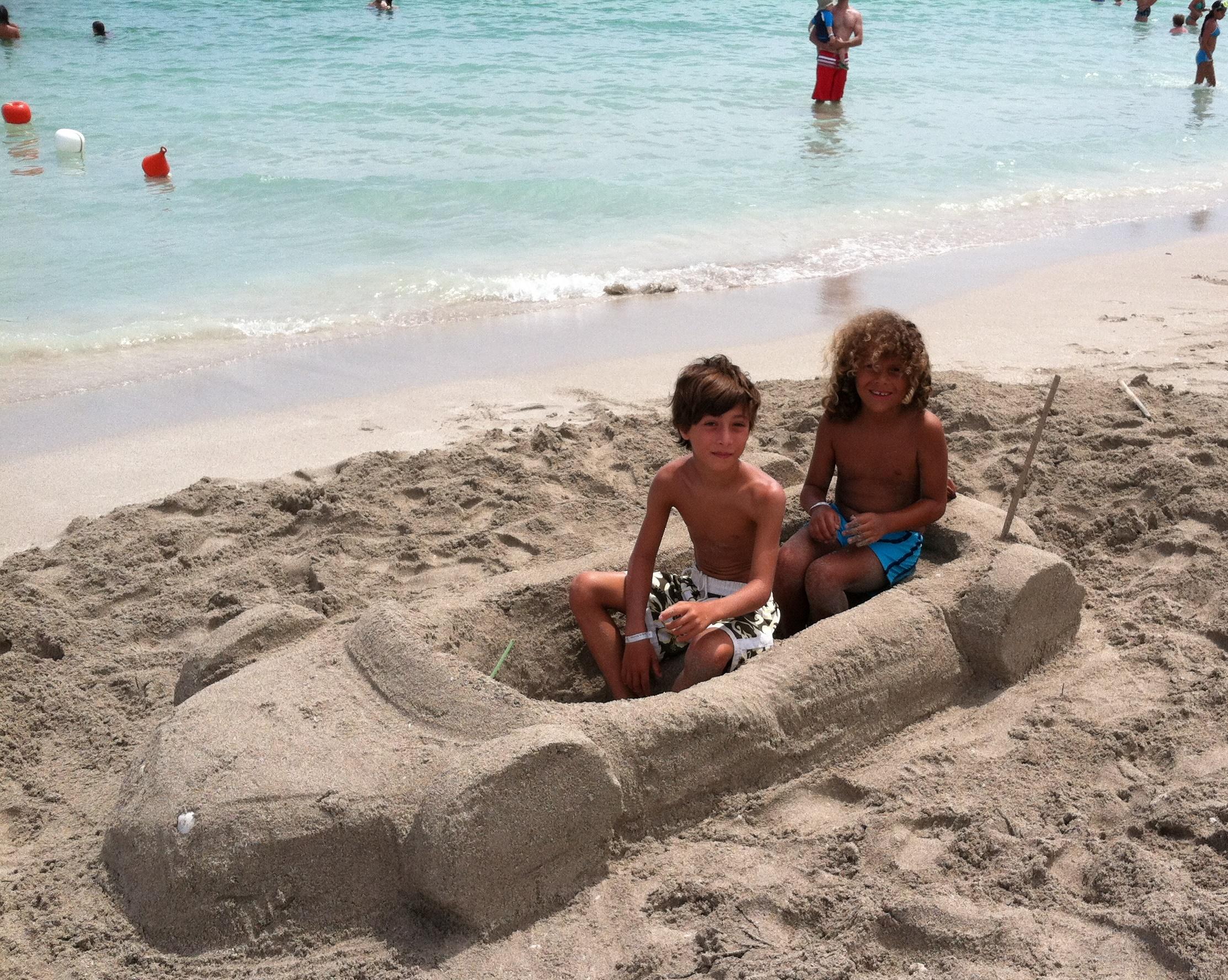 IAuto di sabbia